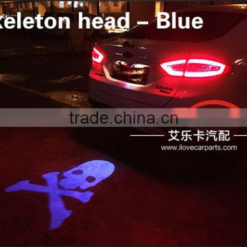 2016 newest design 4w car tail logo led lamp/ high bright logo laser projector light car logo light