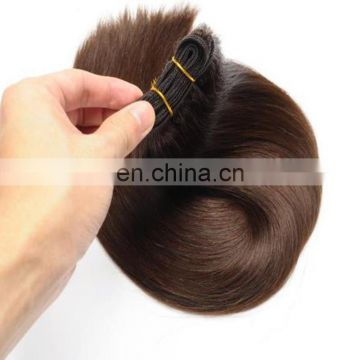 Alibaba.com wholesale human hair weave grade 8a brown color 100% malaysian hair extension