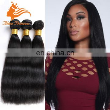 Itnalian Yaki Straight Hair Bundles Remy Peruvian Yaki Hair Natural Black Double Drawn Full End Virgin Human Hair In Stock