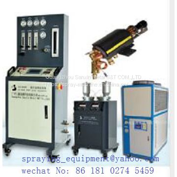tungsten carbide powder /chrome powder paint machine , nickel /chrome powder coating machine ,HVOF powder coating machine