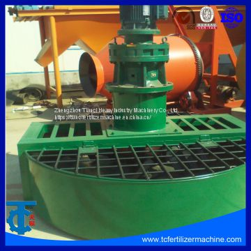 Double Shafts Paddle Mixer for fertilizer making line