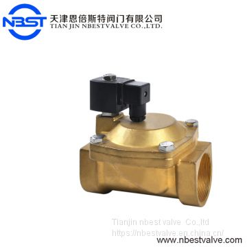 SS304 Stainless Steel Pilot operated diaphragm low price 230v 12v air solenoid valve