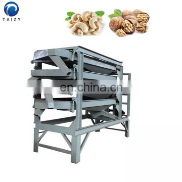 small vibrating screening machine industrial cashew sorting machine