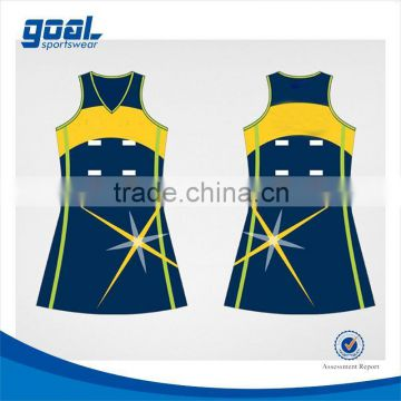 Top quality factory price latest cheap sublimation netball dress                                                                         Quality Choice