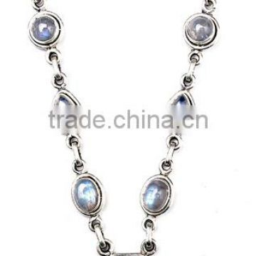 TV Channel Sterling Silver Moonstone. Necklace Costume Jewellery Pearl Jewellery Amber Jewellery Semiprecious Necklace