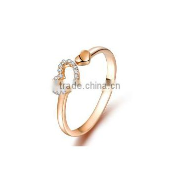 a5d49a293 YCR7081 heart shaped silver ring design for girls of Silver Ring from China  Suppliers - 134273547
