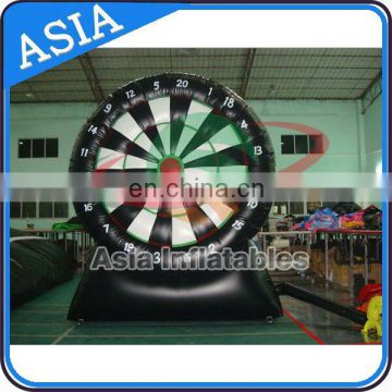 Inflatable Football Dart Boards / Inflatable Dart Board With Hooks and Loops