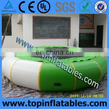 TOP Inflatable Water Park, Water Trampoline With Slide Aqua Park for sale,Inflatable Water Blob Trampoline For Lake