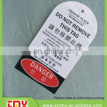 Warning sign,safety sign,Lockout Checkout PVC Tags