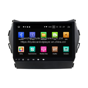 KD-9605 android 8.0 8core Car gps navigation auto radio dvd Player for IX45 / Santa Fe 2013-2014