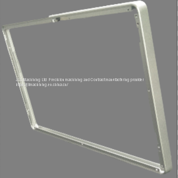 Customized all kins of aluminum frame CNC machining /turning/milling parts