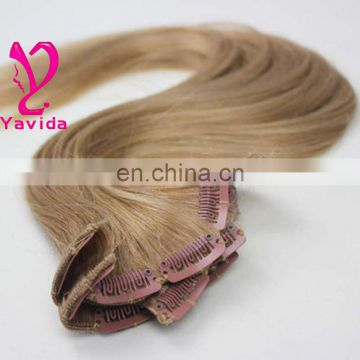 Brazilian Cheap Money Clip In Hair Extension Sliky Straight