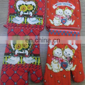 cotton slip-resistant potholder and oven mitt sales in bulk