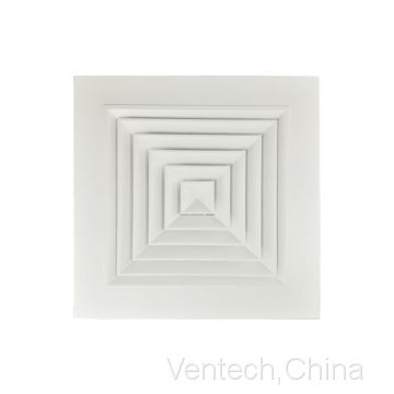 aluminum square supply ceiling vent China supplier