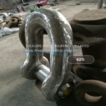 D type connect shackle  in qingdao factory in stock