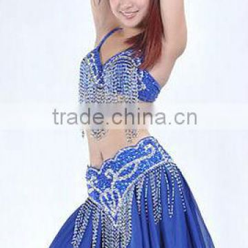 SWEGAL belly dance sex bra top belt dance dresses dancing costume SGBDT13110