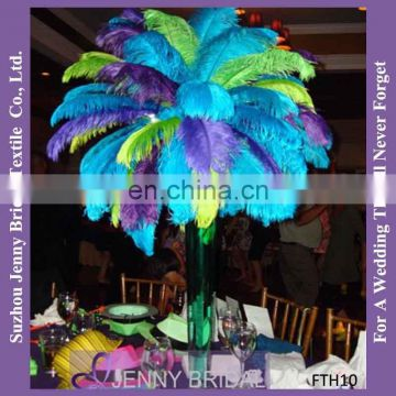 FTH09 Wedding Decor Centerpiece Ostrich Feather Decorations