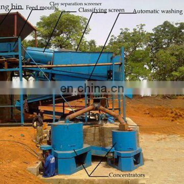 Gold Panning Dredge on Dry Land