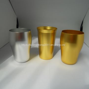 16OZ colorfull Oxidative polychrome aluminum cola water cup set with six colors