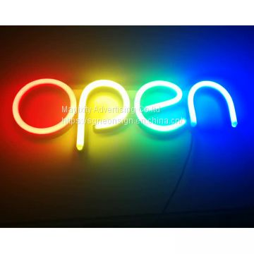 Competitive price china manufacture Popular Neon lighting open sign