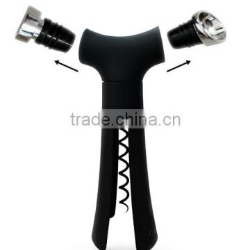 Creative Wine Opener Multifunctional Wine Tool with a 2 In 1 Wine Aerator and a carry bag