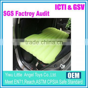 PVC inflatable air mattress, car travel inflatable car bed