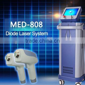 810nm 2015 Diode Laser 808nm Permanent Hair Removal Women Machine Diode Laser Hair Removal Portable 12x12mm Underarm