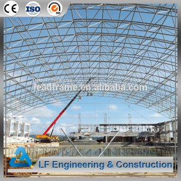 Long-Span Steel Space Frame Swimming Pool Roof
