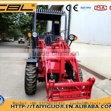 ZL10F 1000kg harvester pickup wheel loader for sale