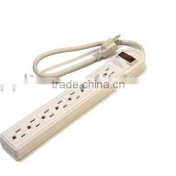 UL-Listed 8 outlet power strip/electric outlet