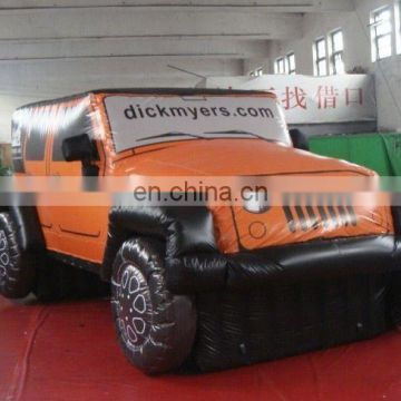 gaint replica inflatable car