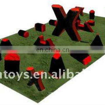 2011 new 5 man Inflatable paintball bunkers