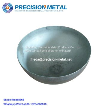 ASME HEMISPHERICAL HEAD for water tank steel hemisphere