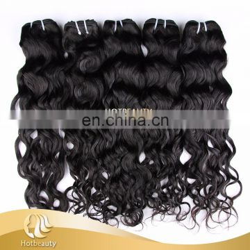 Virgin Hair Peruvian Water Wave 3 Bundle wholesale price human hair manufaturer