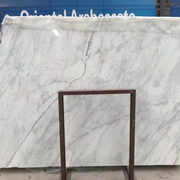 Oriental white marble slabs & polished marble tiles