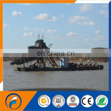 Qingzhou Dongfang Chain Bucket Gold Dredger & gold mining equipment & gold dredger & gold separator & gold selecting machine
