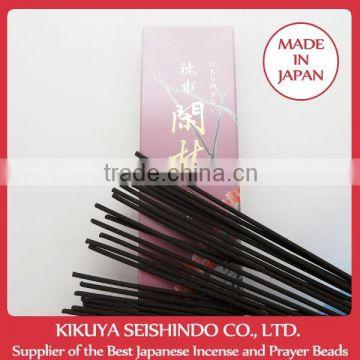 Gyokushodo Incense Sticks, Jinsui Kanrin mix of fragrance wood, Less