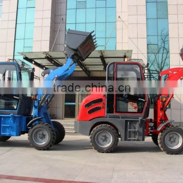 China hydraulic pump mini tractor CAISE loader backhoe Germany hot