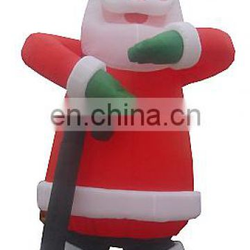 2017 High quality christmas decoration inflatable santa claus