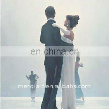 Jack Vettriano Dance me at the end of love Handmade Oil Painting