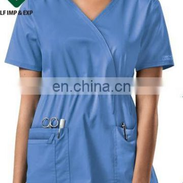 High fashioned medical scrub uniform or nurse uniform