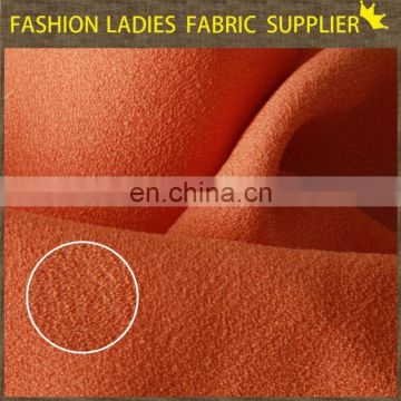 Shaoxing textile 100%POLY WOOL DOBY CHIFFON
