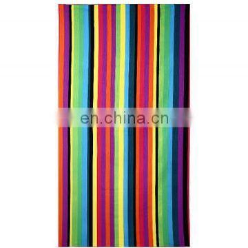 Super comfortable stripe 140*70cm cabana square beach bath cloth towels