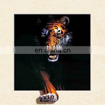 New 2018 wolf/tiger 5d picture for decoration/selling/gift