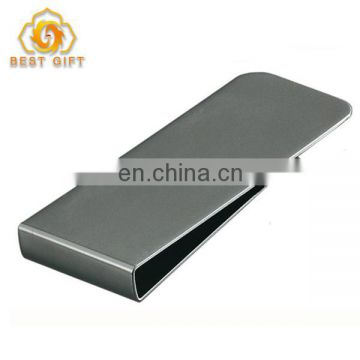 Custom Stainless Steel Folding Metal Wallet Money Clip