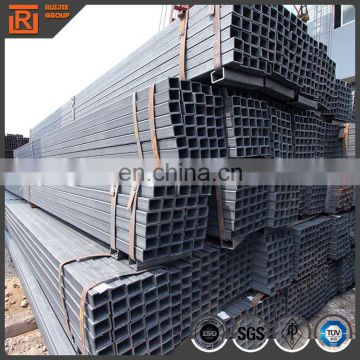ASTM A500 square steel tube, hollow section square pipe 80x80