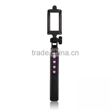 Mini Handheld Bluetooth Monopod selfie stick; With zoom in/out function; Bluetooth Chipset: Airoha 3.0; Max Load capacity: 1.0 k