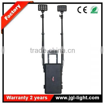 72w led flood light rechargeable led extendable work light high flux led portable light