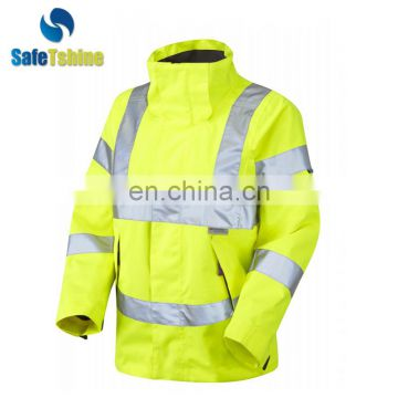High reflective fashion reflective raincoat