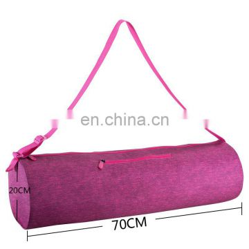 Wholesale Durable Gymnastic Yoga Mat Sport Carrying Bag Customized Canvas Tote Bag